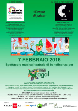 Spettacolo musical teatrale